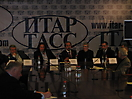 Пресс-конференция господина Хисатаки в ИТАР-ТАСС